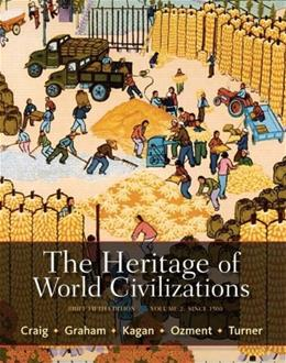 The Heritage of World Civilizations: Brief Edition, Volume 2 (5th Edition) 9780205835478