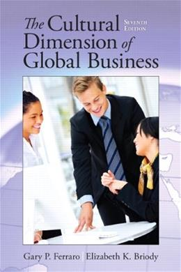 Cultural Dimension of Global Business 7 9780205835591