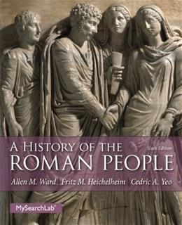 History of the Roman People 6 9780205846795