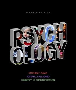 Psychology (7th Edition) 9780205846849
