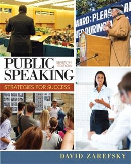 Public Speaking: Strategies for Success (7th Edition) 9780205857265