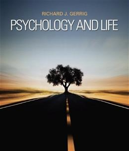 Psychology and Life (20th Edition) 9780205859139