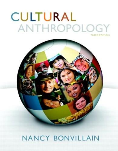 Cultural Anthropology (3rd Edition) 9780205860364