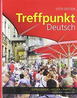 Treffpunkt Deutsch: Grundstufe and Student Activities Manual 1 9780205874422