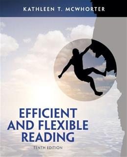 Efficient and Flexible Reading (10th Edition) 9780205903597