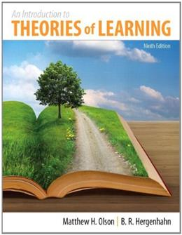 Introduction to the Theories of Learning, by Olson, 9th Edition 9 PKG 9780205923823