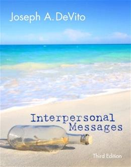 Interpersonal Messages (3rd Edition) 9780205931804