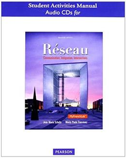 Reseau: Communication, Integration, Intersections, by Schultz, 2nd Edition, CD-ROM ONLY 2 CD-ROM 9780205933419