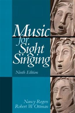 Music for Sight Singing (9th Edition) 9780205938339