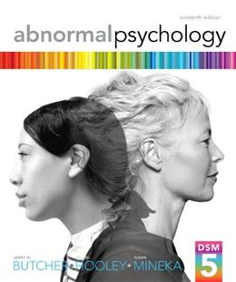 Abnormal Psychology (16th Edition) 9780205944286