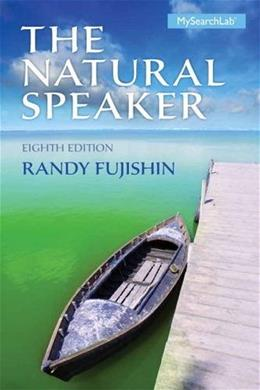 The Natural Speaker, 8th Edition 9780205946273