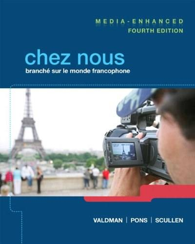 Chez nous Media-Enhanced Version Plus MyLab French (multi semester access) with eText -- Access Card Package (4th Edition) 4 PKG 9780205949458