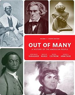 Out of Many, Volume 1 (8th Edition) 9780205962051