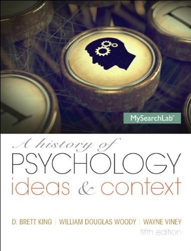 A History of Psychology: Ideas and Context 5 9780205963041