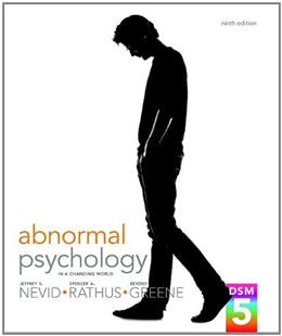 Abnormal Psychology in a Changing World Plus NEW MyLab Psychology  with eText -- Access Card Package (9th Edition) 9 PKG 9780205965014