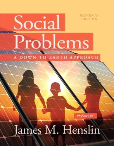 Social Problems: A Down to Earth Approach (11th Edition) 9780205965120