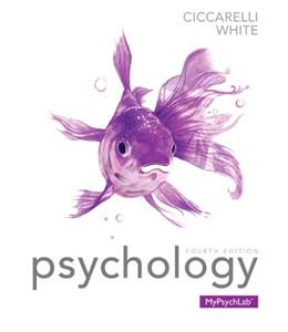 Psychology (4th Edition) 9780205972241