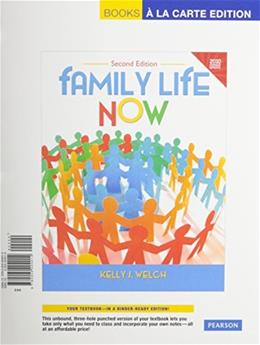 Family Life Now, Census Update, by Welch, 2nd Books a la Carte Edition 2 PKG 9780205979424