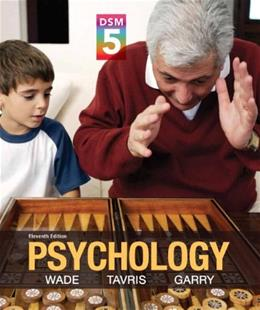 Psychology with DSM-5 Update (11th Edition) 9780205979585