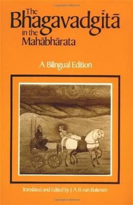 Bhagavadgita in the Mahabharata, by Van Buitenen 9780226846620