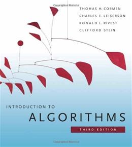 Introduction to Algorithms, 3rd Edition (MIT Press) 9780262033848