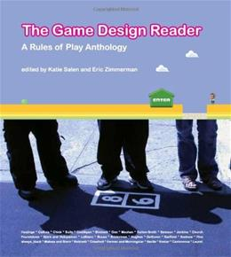 Game Design Reader: A Rules of Play Anthology, by Salen 9780262195362