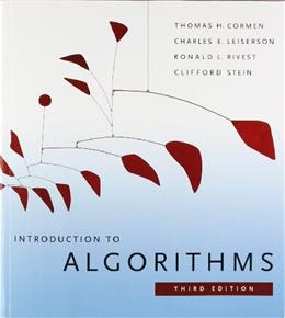 Introduction to Algorithms, by Cormen, 3rd Edition 9780262533058