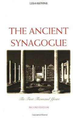 Ancient Synagogue, by Levine 9780300106282