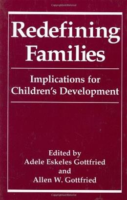 Redefining Families 9780306445590