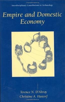 Empire and Domestic Economy, by DAltroy 9780306464089