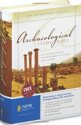 Archaeological Study Bible: An Illustrated Walk Through Biblical History and Culture, by Kaiser BK w/CD 9780310926054