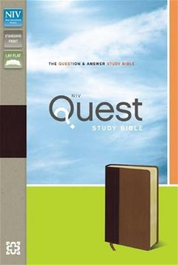 NIV Quest Study Bible: The Question and Answer Bible, by Zondervan 9780310941507