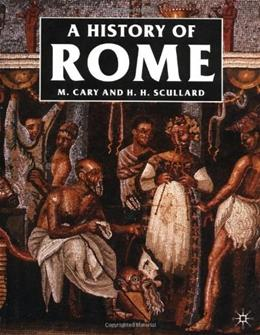 History of Rome: Down to the Reign of Constantine, by Cary, 3rd Edition 9780312383954