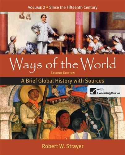 Ways of the World: A Brief Global History with Sources, Volume 2 2 PKG 9780312583491
