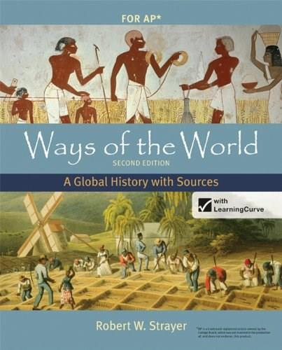 Ways of the World with Sources, High School Edition 2 PKG 9780312583507