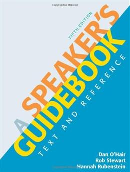 Speakers Guidebook: Text and Reference, by O