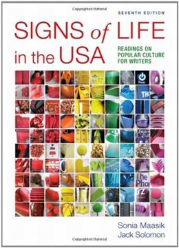 Signs of Life in the USA: Readings on Popular Culture for Writers 7 9780312647001