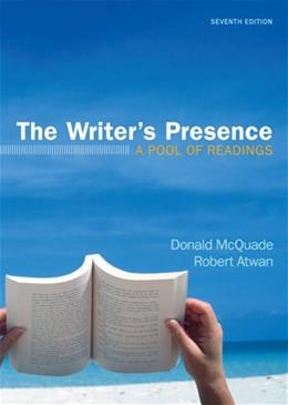 The Writers Presence: A Pool of Readings 7 9780312672621
