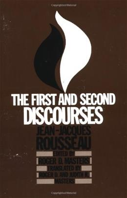 1st and 2nd Discourses, by Rousseau 9780312694401