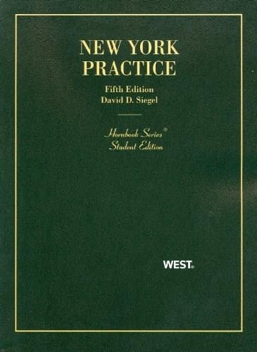 New York Practice, 5th Edition, Student Edition 9780314278418