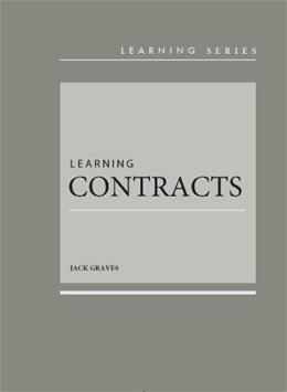 Learning Contracts, by Graves 9780314285300