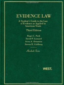 Evidence Law, A Student