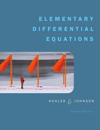 Elementary Differential Equations 2 9780321290441