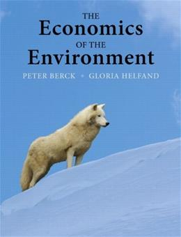 The Economics of the Environment 1 9780321321664