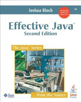 Effective Java, by Block, 2nd Edition 9780321356680