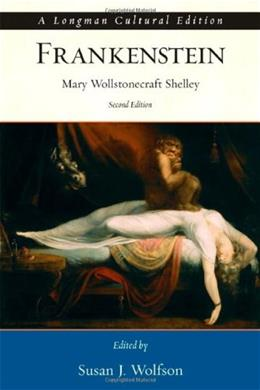 Frankenstein, by Shelley, 2nd Edition 9780321399533