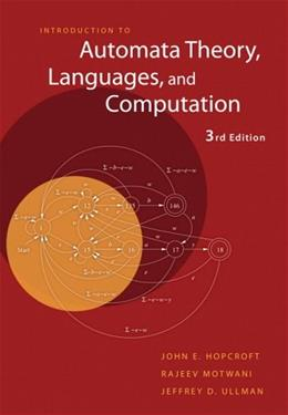 Introduction to Automata Theory, Languages, and Computation (3rd Edition) 3 PKG 9780321455369