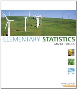 Elementary Statistics (11th Edition) 11 w/CD 9780321500243