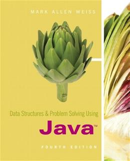 Data Structures & Problem Solving Using Java 4 9780321541406