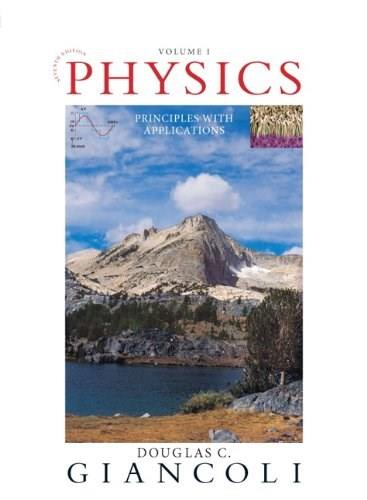 Physics: Principles with Applications (7th Edition) - Standalone book 9780321625922